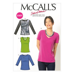 McCall's Misses' Tops M6964 - Sewing Pattern