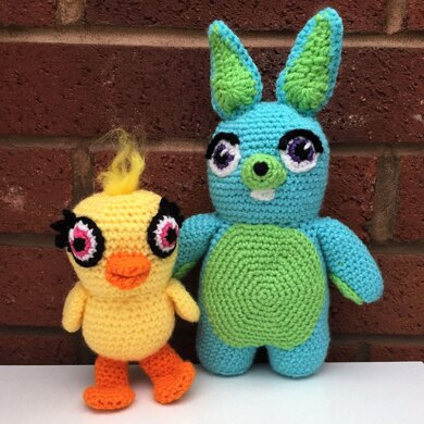 Children's Toys Rabbit and Chick