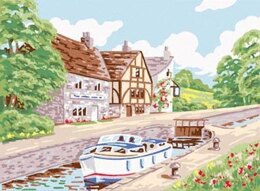 Anchor Country Lock Tapestry Kit - 22 x 30.5 cm