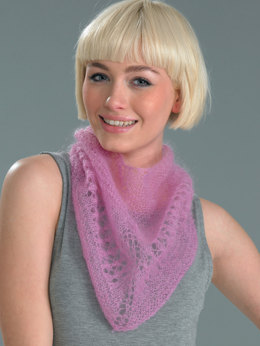 Cowl, Mitts and Scarf in Wendy Air - 5728