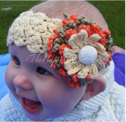 Chrysanthemum Baby Headband
