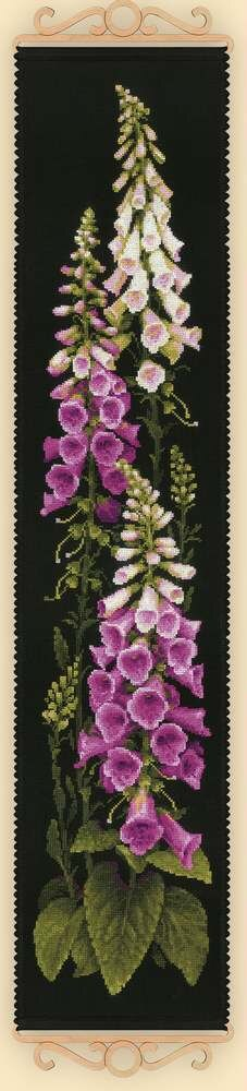 Riolis Foxgloves Cross Stitch Kit