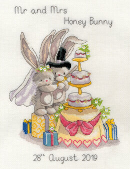 Bothy Threads Cutting The Cake Cross Stitch Kit