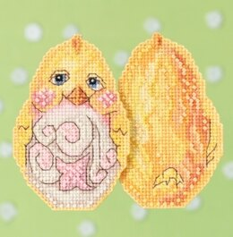 Mill Hill Yellow Chick Cross Stitch Kit