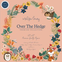 """Craft Consortium Double-Sided Paper Pad 12""""X12"""" 40/Pkg - Over The Hedge"""