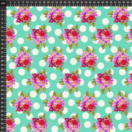 Tula Pink Curiouser & Curiouser - Painted Rosed Wonder