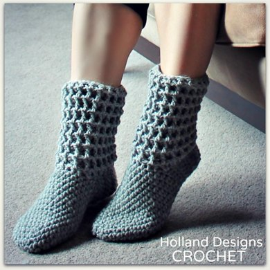 Ladies Waffle Boots