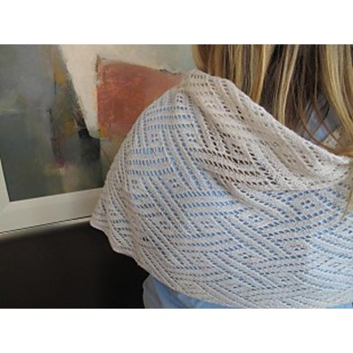 Villandry Lace Shawl