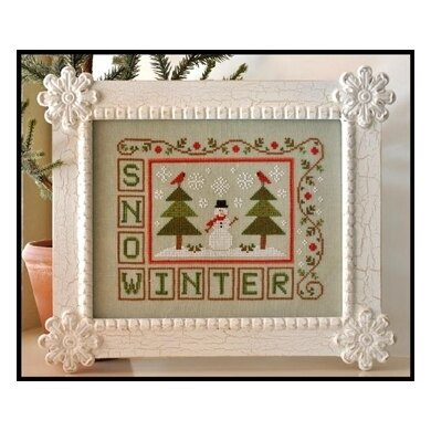 Country Cottage Winter Snow - CCN71 -  Leaflet