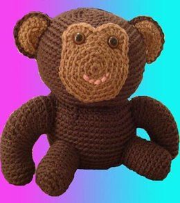 Amigurumi Graeme the Monkey