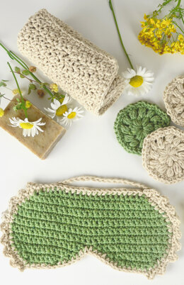 Mother's Day Spa Kit in Premier Yarns Home Cotton Solids - HMDSK002 - Downloadable PDF