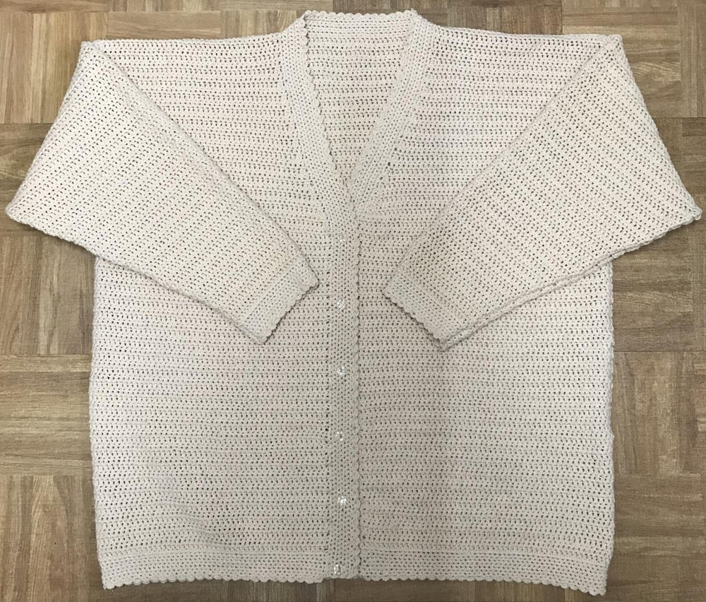Easy Ladys Crochet Cardigan Pattern Crochet Pattern By Uk Craft Store