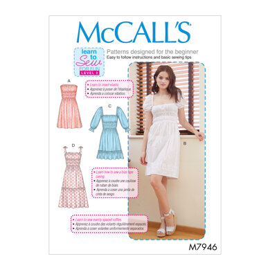 McCall's Misses' Dresses M7946 - Sewing Pattern