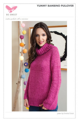 Yummy Bambino Pullover in Vinni's Colours Bambi - Downloadable PDF