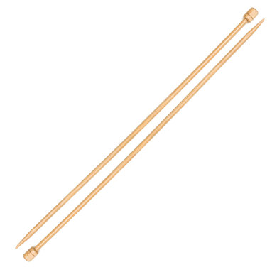 Pony Bamboo Single Point Needles 33cm (1 Pair)
