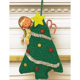 Easy Tree Stocking in Bernat Happy Holidays - 452 - Downloadable PDF