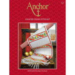 Anchor Rustic Style Runner Cross Stitch Kit