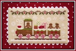 Country Cottage Gingerbread Train - CCNGV1 -  Leaflet