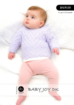 Cardigan & Sweater in DY Choice Baby Joy DK - DYP135