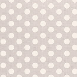 Tilda Medium Dots Light Grey Cut to Length