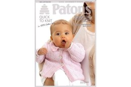 Jacket, Beanie and Headband in Patons 100% Cotton 4 Ply - 3771