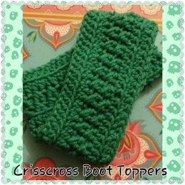 Crisscross Boot Cuffs