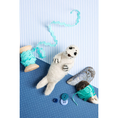 Hawthorn Handmade Baby Seal Needle Felting Kit