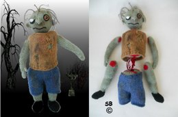 Tombie the zombie Interactive toy