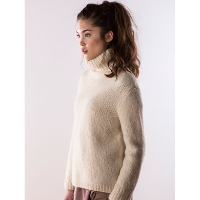 Haven Sweater in Berroco North Star