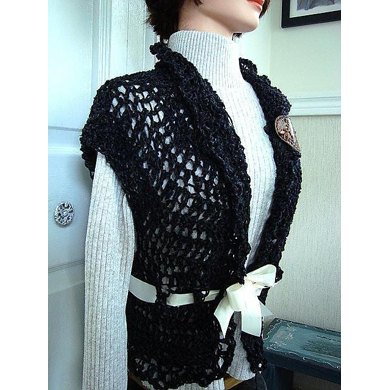 469 LACY SHRUG, age 12 to adult XL