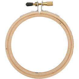 Frank A. Edmunds Wood Embroidery Hoop W/Round Edges 3in