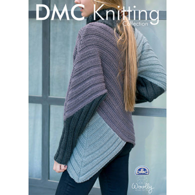 Asymmetric Jumper in DMC Woolly - 15134L/2
