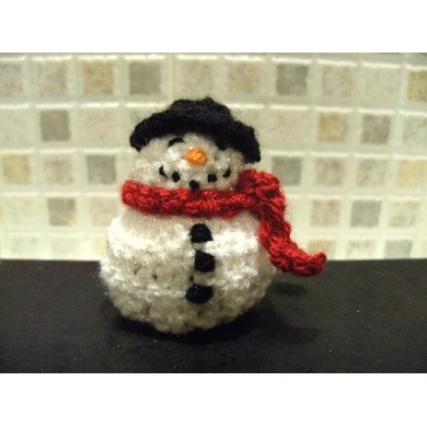 Snowman (chocolate cover) decoration