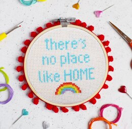 The Make Arcade Midi Cross Stitch - No Place Like Home