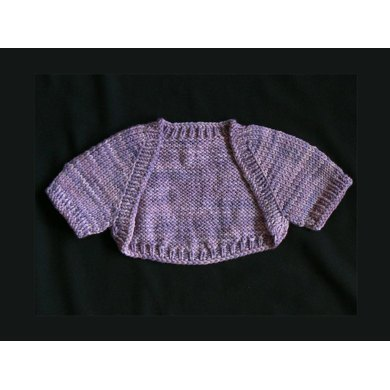 Seamless Baby Shrug