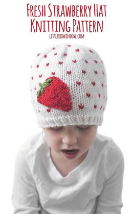 Fresh Strawberry Hat
