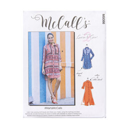McCall's Misses' Dresses M8086 - Sewing Pattern