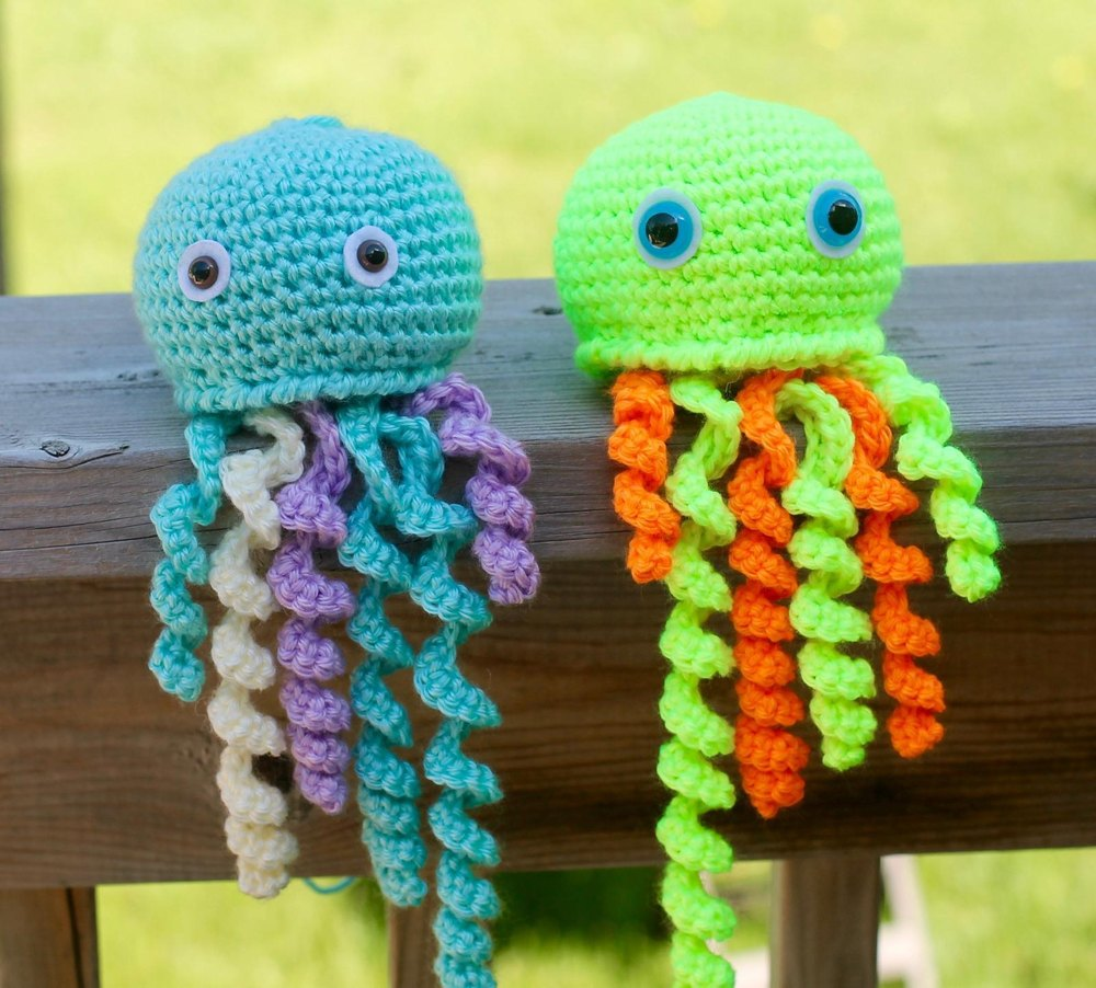 Jelly belly the jelly fish crochet pattern by the baby crow zoom bankloansurffo Images