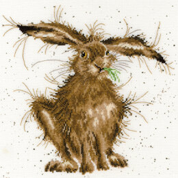 Bothy Threads Hare Brained Cross Stitch Kit - 26cm x 26cm