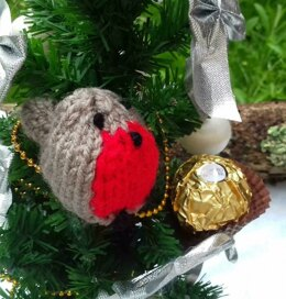 Robin Redbreast - Christmas Chocolate Cover