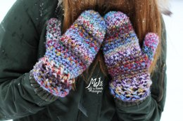 Bulky & Quick Cross Stitch Mittens