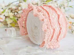 Victoria Rose Lace Baby Bonnet