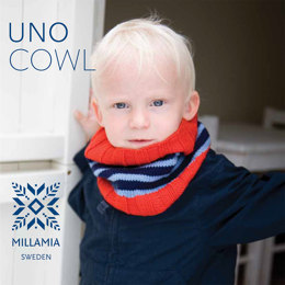 """Uno Cowl"" - Cowl Knitting Pattern For Boys in MillaMia Naturally Soft Merino"