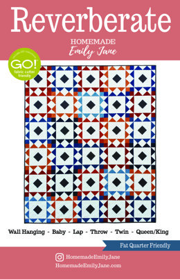Reverberate Quilt Pattern