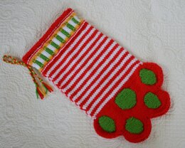 Paw Stocking - kp0913 Pet Stocking