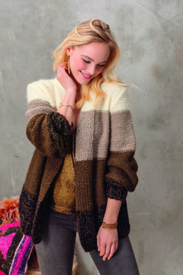 Mona Cardigan in Phildar Charme - Downloadable PDF