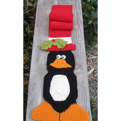 Celebrate the Season with Pengy, Scarf