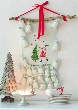 Enchanting Christmas - Advent Calendar in Anchor - Downloadable PDF