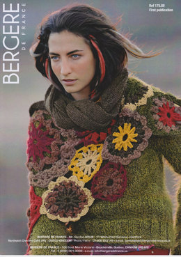 Scarf in Bergere de France Lima, Naturelle, Angel, Cocoon, Plume, Pixel & Ideal - 17588