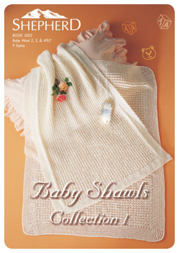 Baby Shawls Collection Book 1 by Patons  - 1003